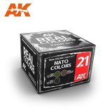 Real Colors: NATO Colors Set (3x10ml)