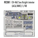 CH-46E Sea Knight Interior (Academy, MRC)