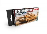 US Modern Vehicles Color Set (6x17ml)