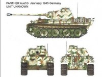 Panther Ausf. G Early/Late Version + Full Interior