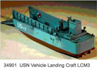 LCM 3 US Navy Landungsboot WW II
