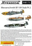 Messerschmitt Bf-109s with Stab markings - Part 2