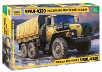 Ural-4320 Russian Army Truck