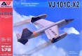 VJ 101C-X2 Supersonic VTOL Fighter