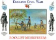 English Civil War -Royalist - Musketeers