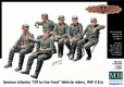German Infantry Vehicle Riders WWII