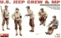 US Jeep Crew + MP (WWII)