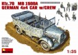 Kfz. 70 - MB L1500A German 4x4 Car + Crew